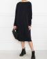 Платье свободного кроя из вискозы и купро Maison Martin Margiela  –  МодельОбщийВид