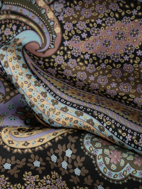 Платок из шелка, с узором Michele Binda - Деталь1
