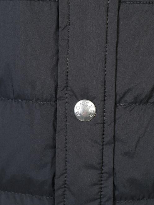 Куртка трикотажная из шерсти Moncler - Деталь