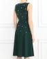 Платье из шелка с вышивкой из перламутровых бусин Paul Smith  –  Модель Верх-Низ1