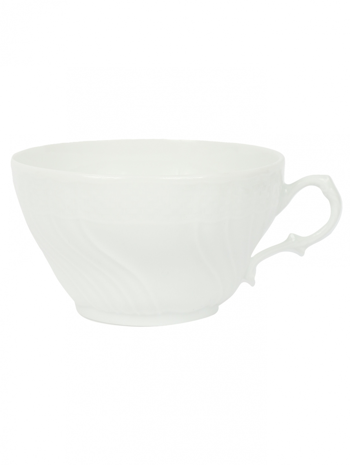 Чайная чашка с рельефным орнаментом Ginori 1735  –  Общий вид