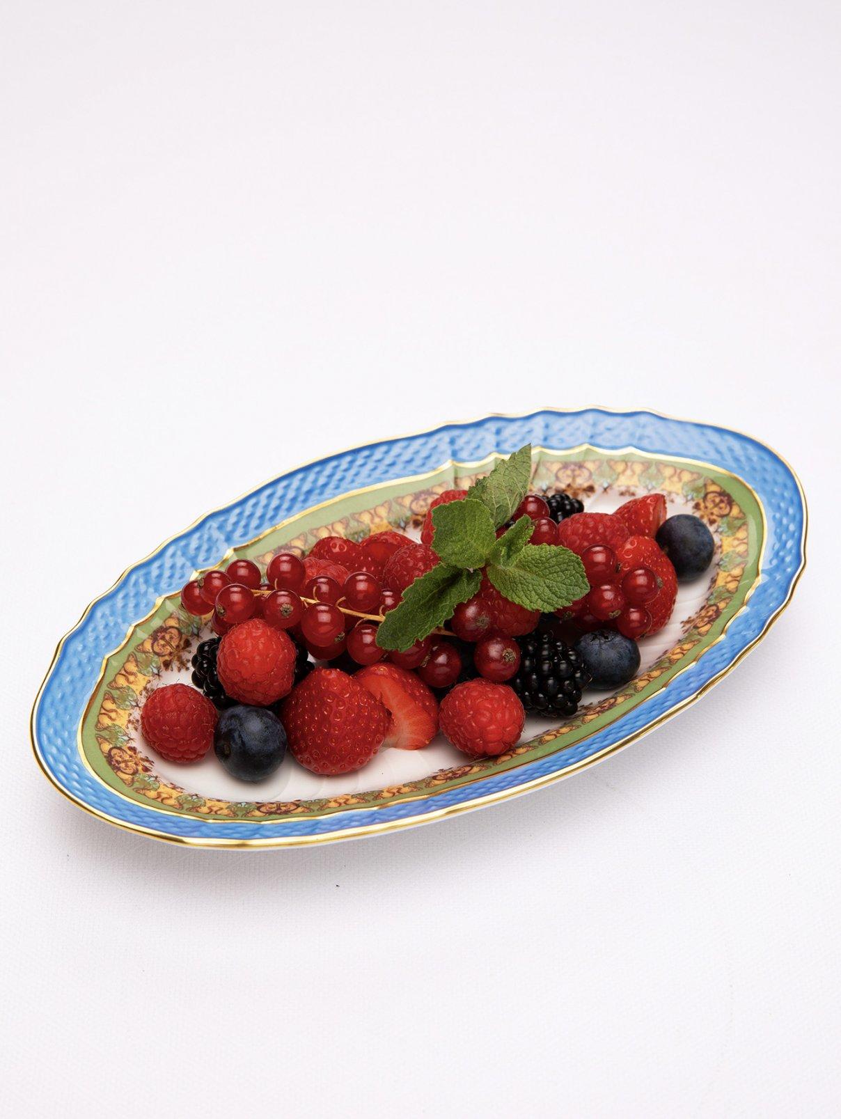 Ассорти из свежих ягод BoscoCafe  –  Общий вид