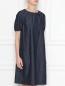 Платье из денима с декором из бисера Max Mara  –  МодельВерхНиз