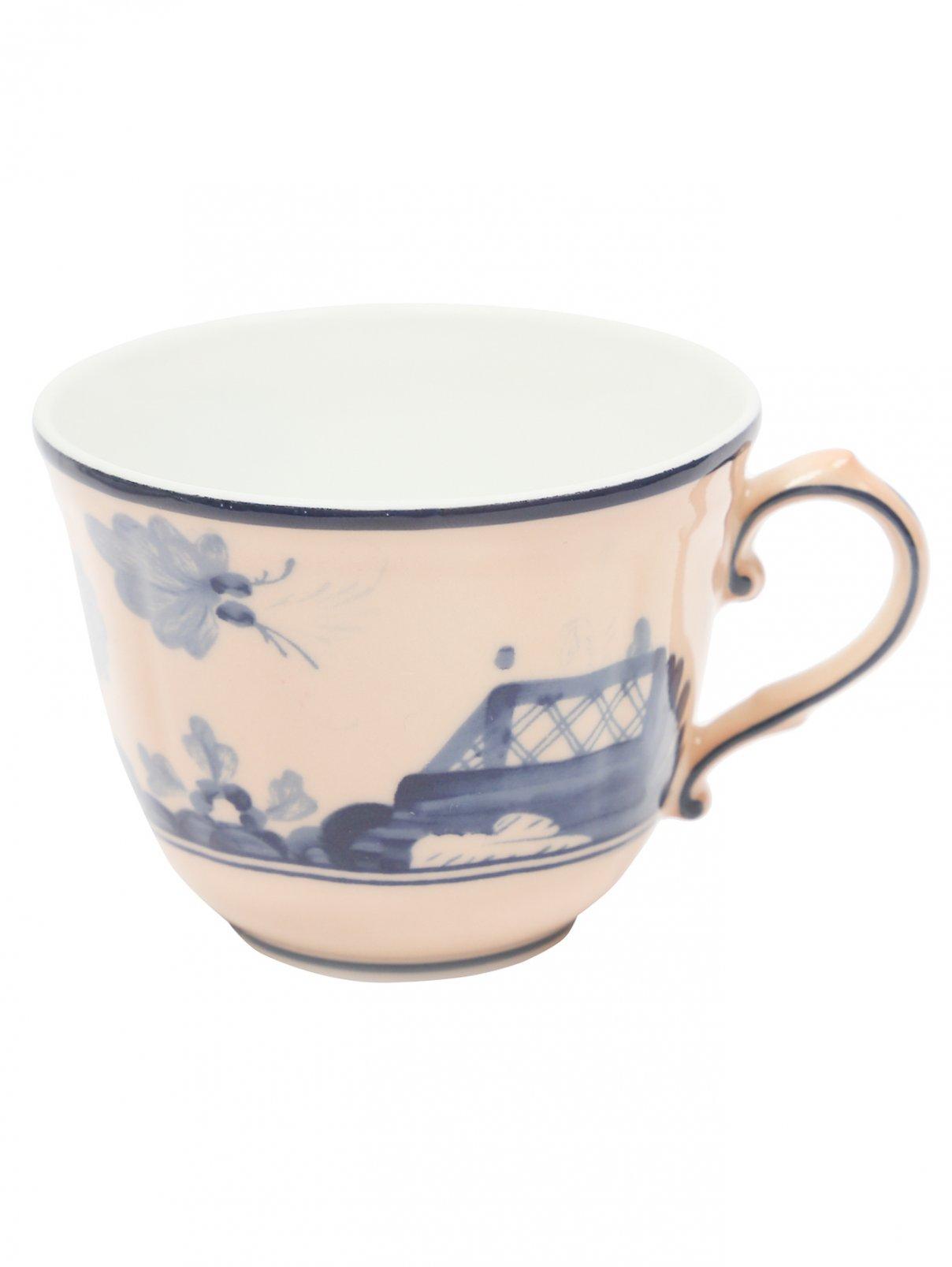 Чашка для кофе из фарфора с узором Richard Ginori 1735  –  Общий вид