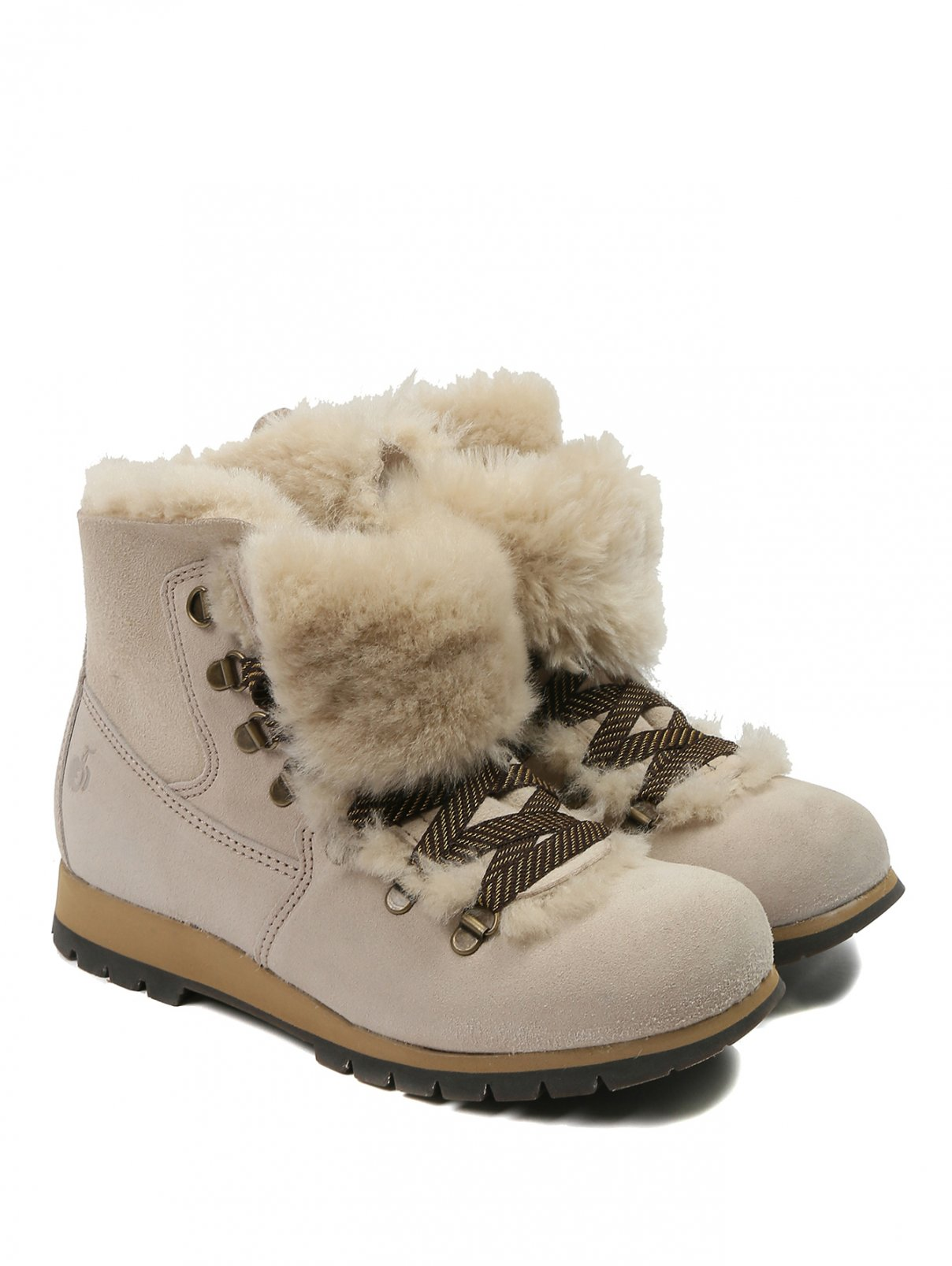 Ботинки из овчины на шнуровке Bosco Fresh  –  Общий вид