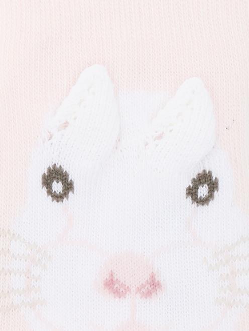 Носки из смешанного хлопка с узором - Общий вид