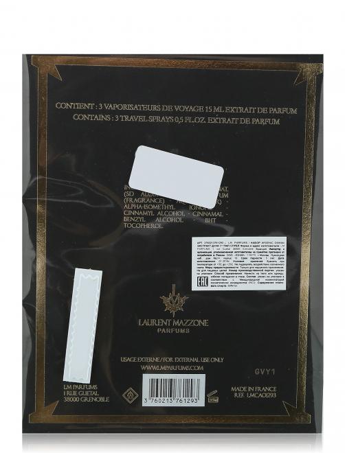Набор Духи Экстракт 3*15мл Arsenic Osman LM Parfums - Общий вид
