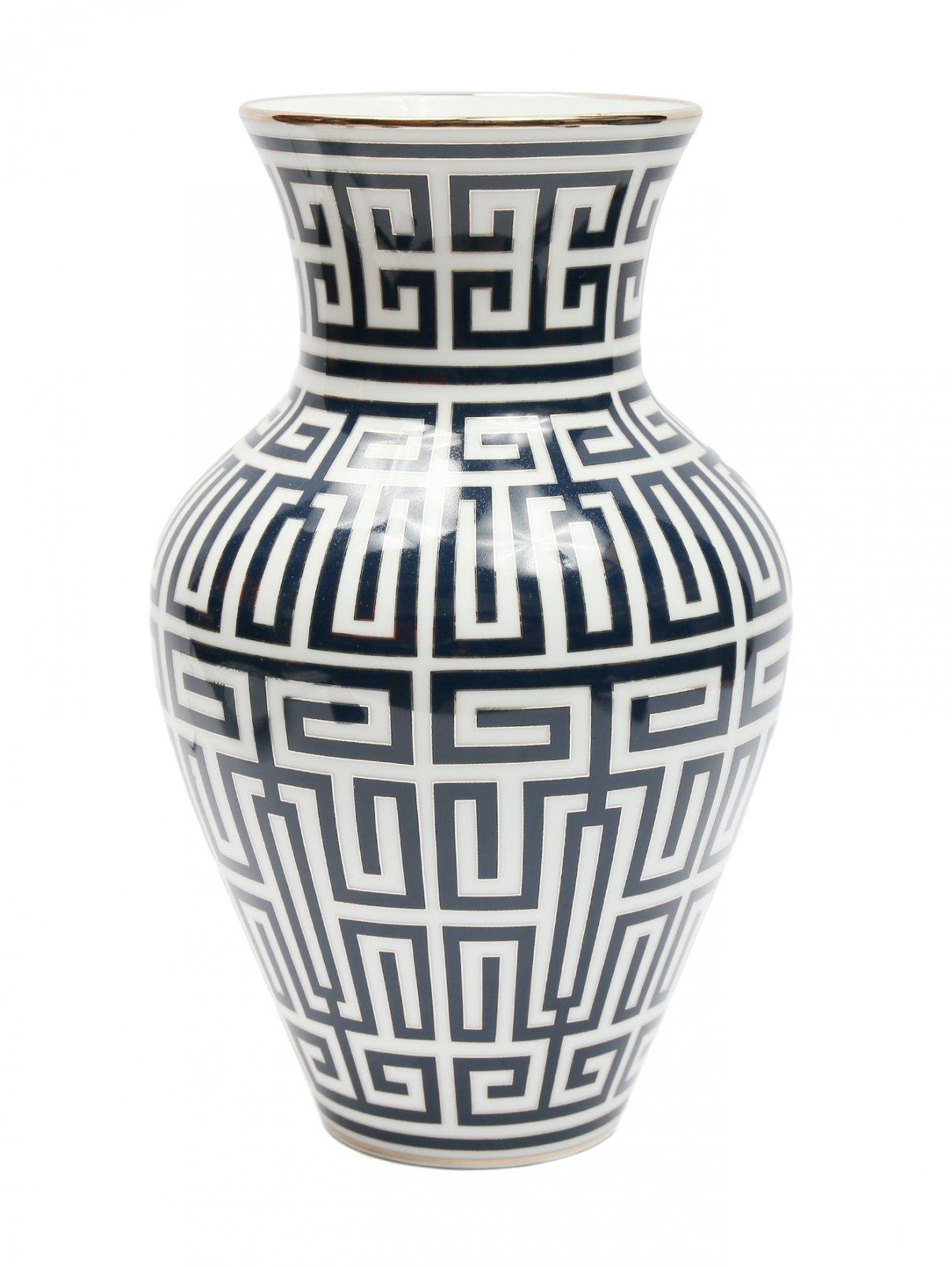 Фарфоровая ваза с узором 8 x 30 Ginori 1735  –  Общий вид