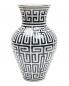 Фарфоровая ваза с узором 8 x 30 Richard Ginori 1735  –  Общий вид