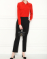 Блуза из шелка с карманами Equipment  –  МодельОбщийВид