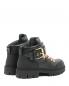 Ботинки из кожи на шнуровке с металлическим декором Moschino  –  Обтравка2