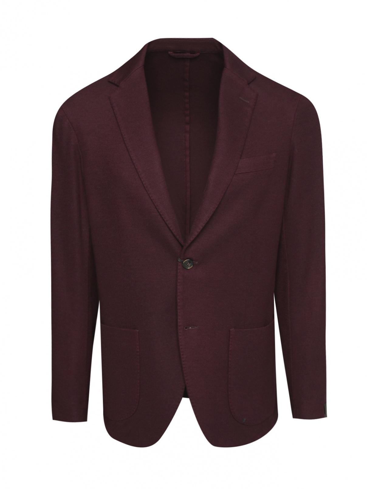 Пиджак однобортный из шерсти Altea  –  Общий вид