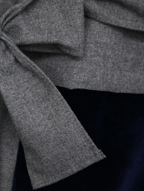 Комбинезон трикотажный с бархатными карманами Il Gufo - Деталь1