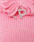Комплект: повязка на голову и пинетки La Perla  –  Деталь
