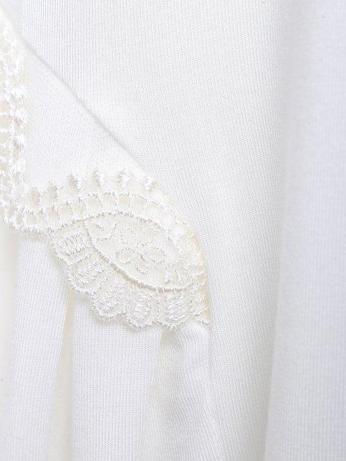 Сорочка из мягкого трикотажа с аппликацией Story Loris - Деталь1