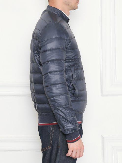 Куртка стеганая на молнии - МодельВерхНиз2