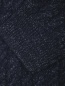 Водолазка из шерсти с узорной вязкой Brooks Brothers  –  Деталь1