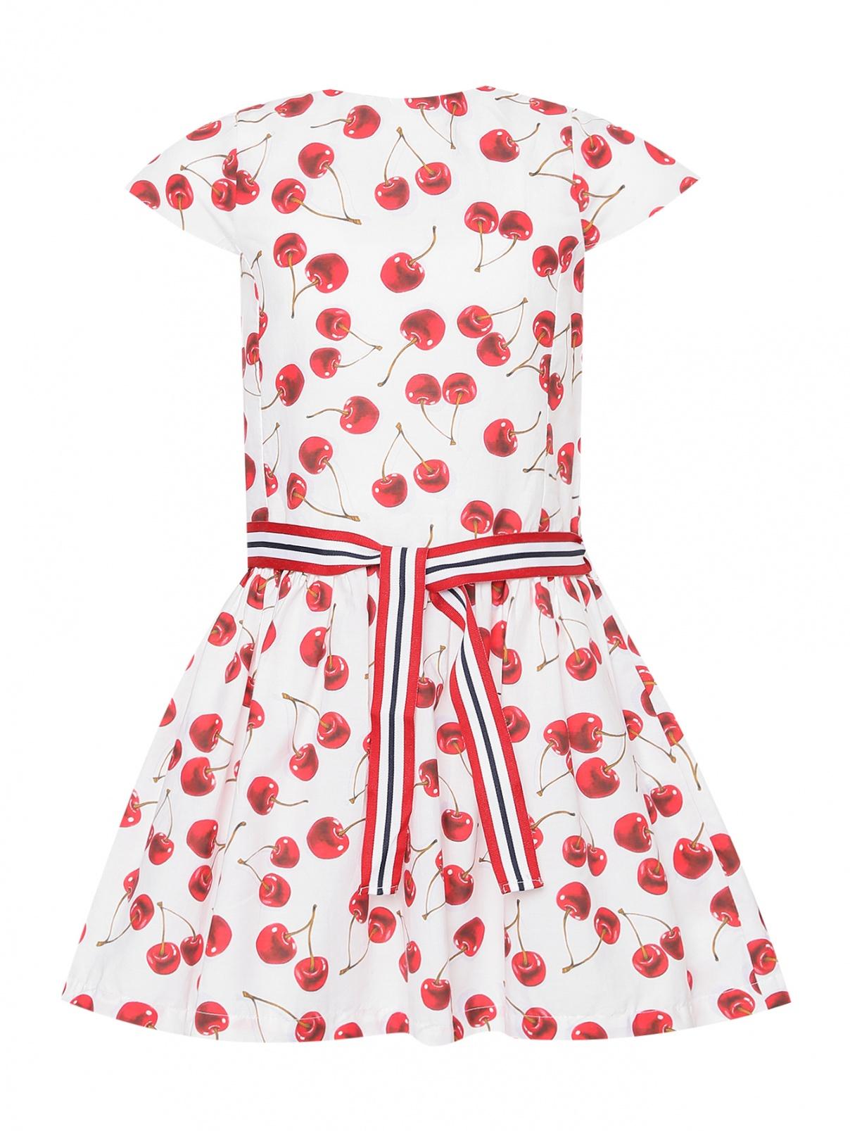 Платье из хлопка с узором Chicco  –  Общий вид