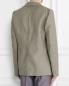 Пиджак однобортный из льна и хлопка с аппликацией Ermanno Scervino  –  Модель Верх-Низ1