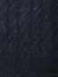 Водолазка из шерсти с узорной вязкой Brooks Brothers  –  Деталь