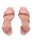 Босоножки атласные на устойчивом каблуке Max&Co  –  Обтравка4