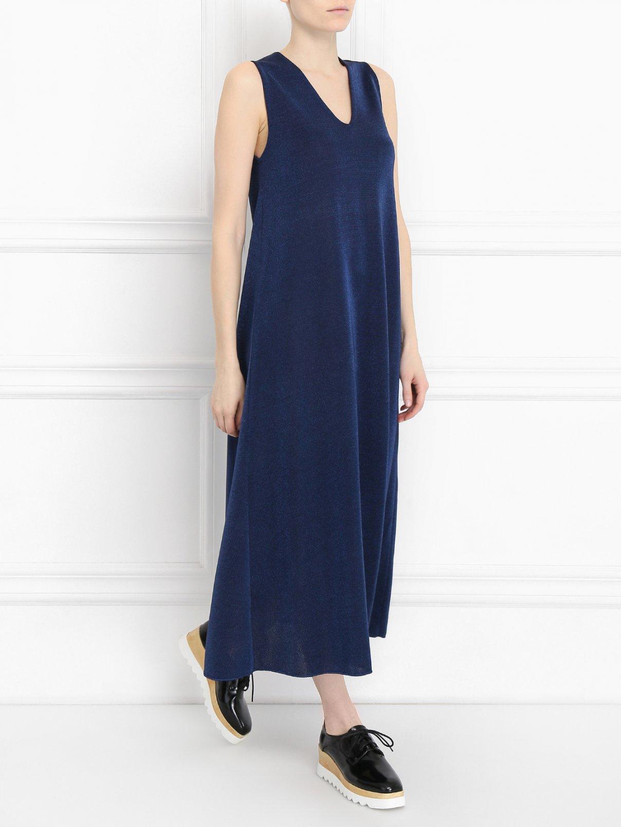 Платье прямого кроя без рукавов M Missoni  –  Модель Общий вид