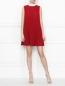Плиссированное платье-мини Red Valentino  –  МодельОбщийВид
