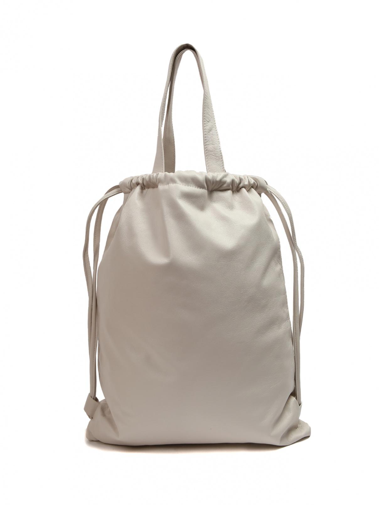 Сумка-рюкзак из кожи Max&Co  –  Общий вид