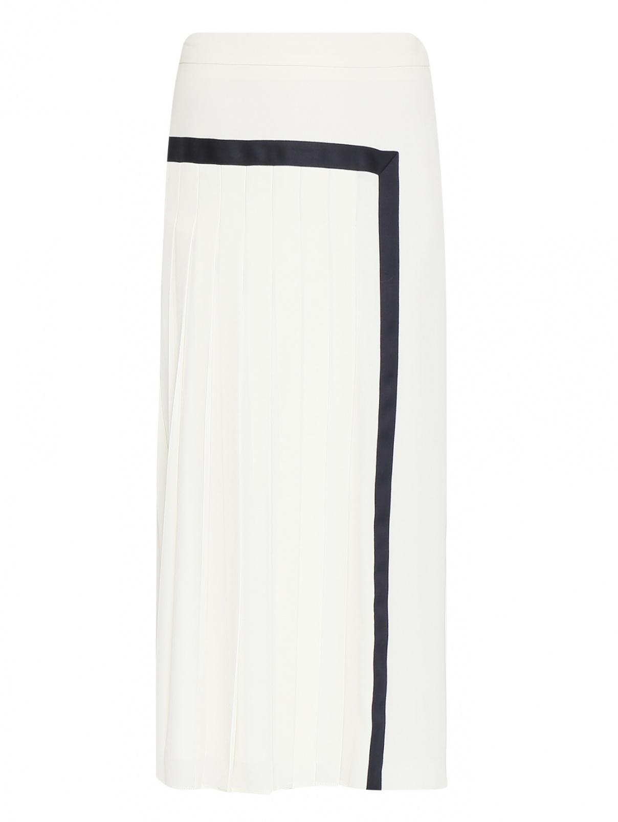 Юбка-миди с контрастной отделкой Max Mara  –  Общий вид