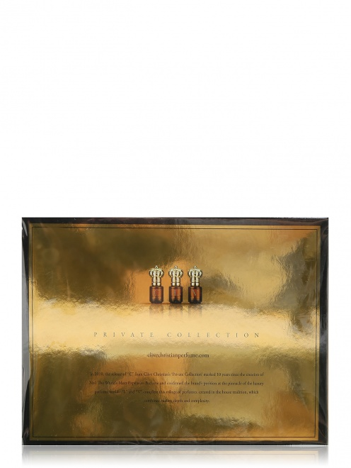 Парфюмерная вода 3x10 мл Private Collection Clive Christian - Общий вид