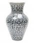 Фарфоровая ваза с узором 8 x 30 Ginori 1735  –  Обтравка1