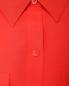 Блуза из шелка с карманами Equipment  –  Деталь