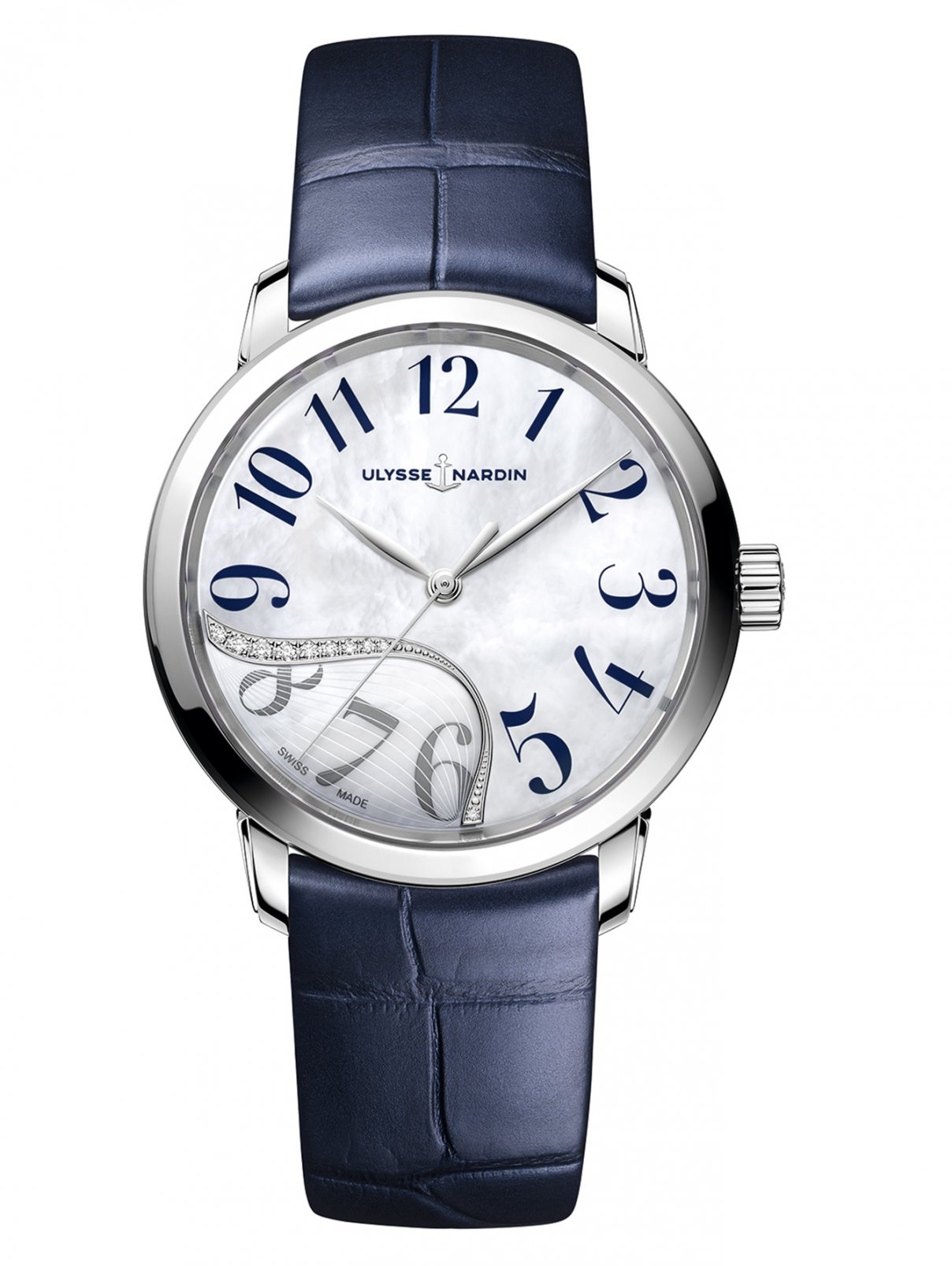 Часы 8153-201/60-03 Classic Jade Ulysse Nardin  –  Общий вид