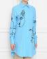 Рубашка из хлопка с вышивкой Moschino  –  МодельВерхНиз