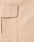 Укороченные брюки из хлопка с боковыми карманами Max&Co  –  Деталь