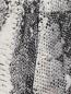 Брюки шелковые с животным узором N21  –  Деталь