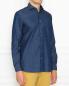 Джинсовая рубашка из хлопка LARDINI  –  МодельВерхНиз