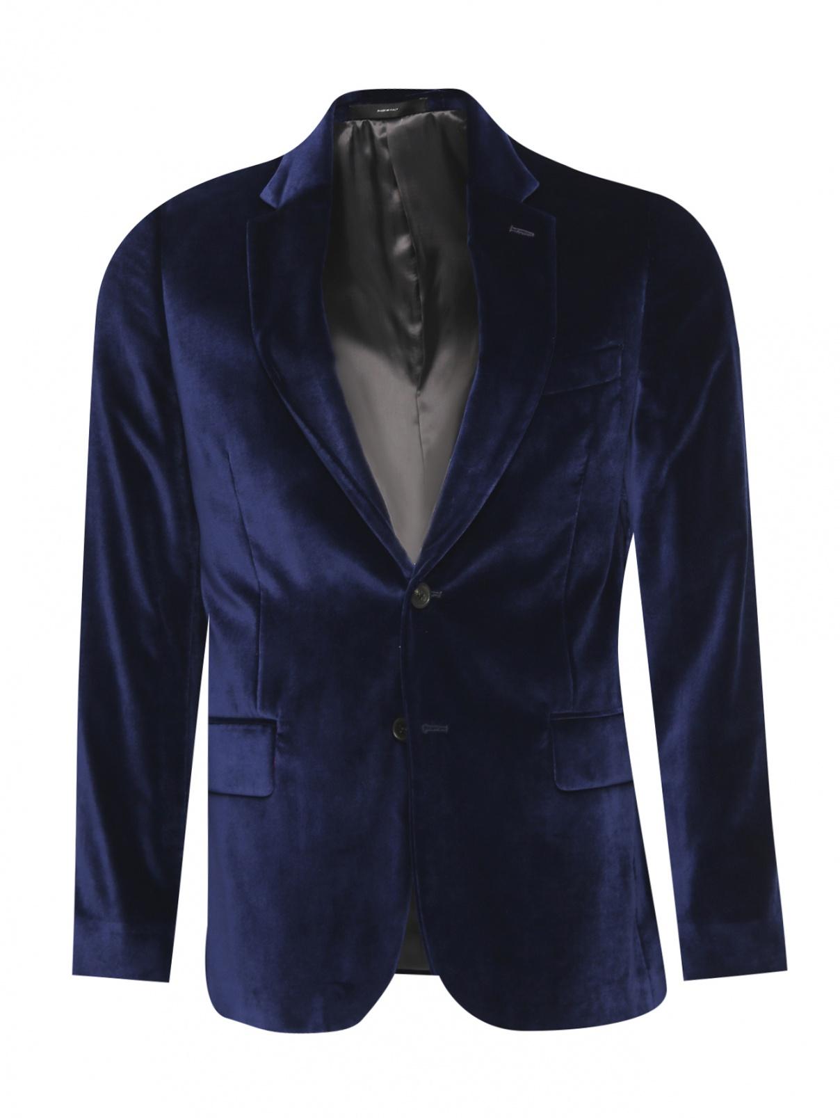 Пиджак однобортный с контрастными вставками Paul Smith  –  Общий вид