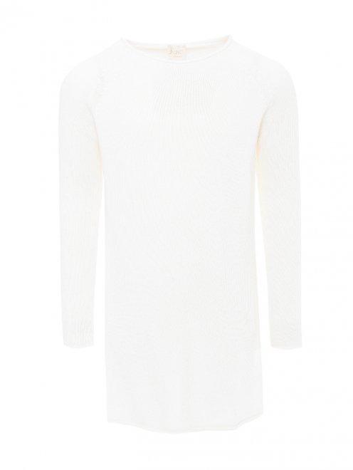 Платье базовое из смешанной шерсти - Общий вид