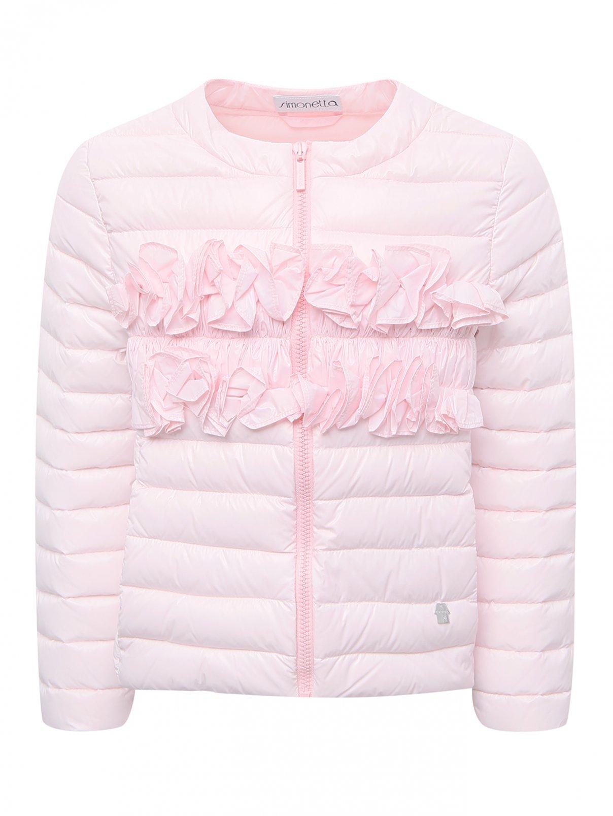 Куртка демисезонная с декором Simonetta  –  Общий вид