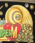 Платье из хлопка с узором и капюшоном Moschino  –  Деталь