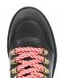 Ботинки из кожи на шнуровке с металлическим декором Moschino  –  Обтравка3