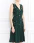 Платье из шелка с вышивкой из перламутровых бусин Paul Smith  –  Модель Верх-Низ