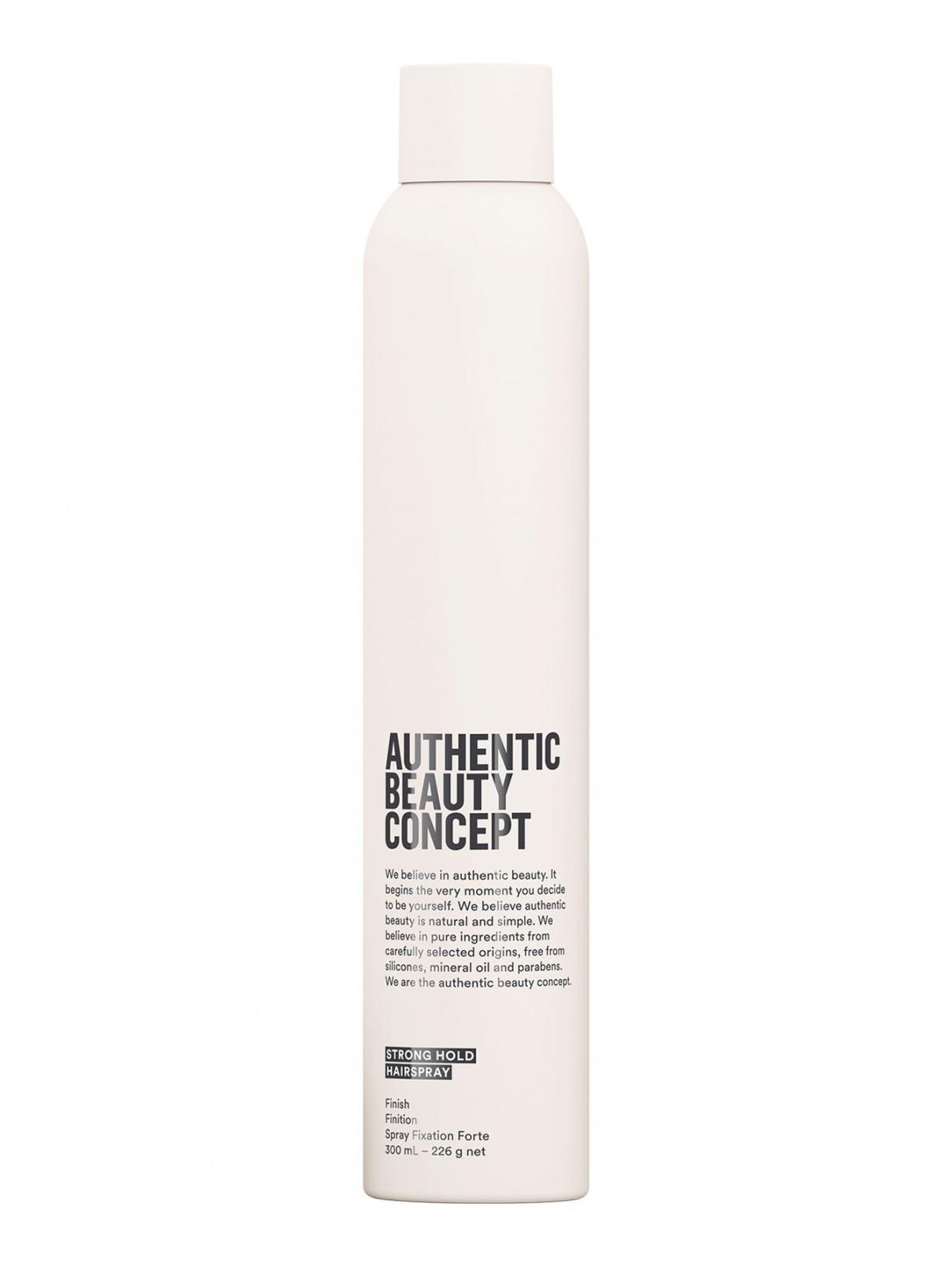 Лак для волос сильной фиксации 300 мл Authentic Beauty Concept  –  Общий вид