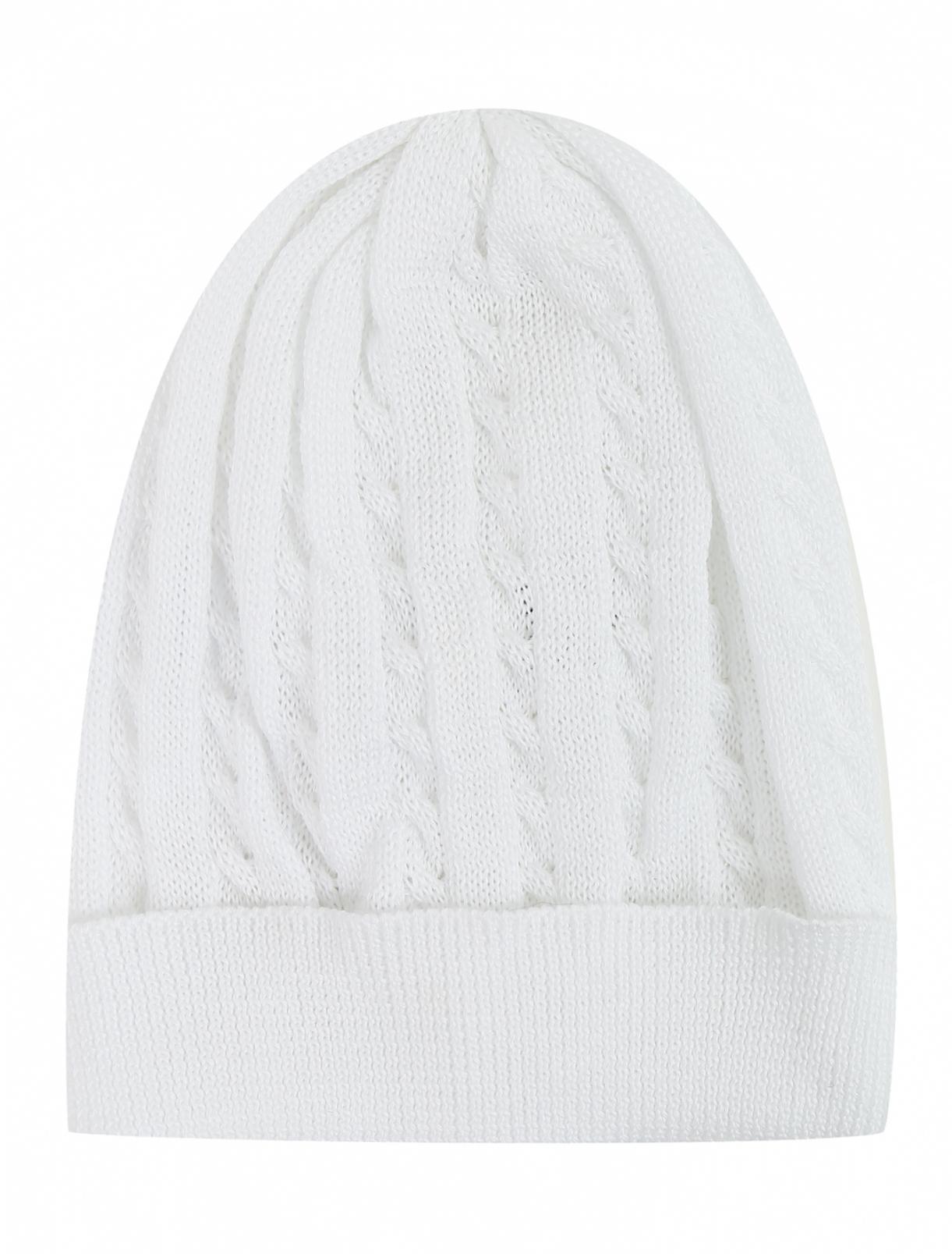 Трикотажная шапочка ажурной вязки IL Trenino  –  Общий вид