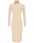 Платье из эластичного сетчатого материала MM6  –  Общий вид