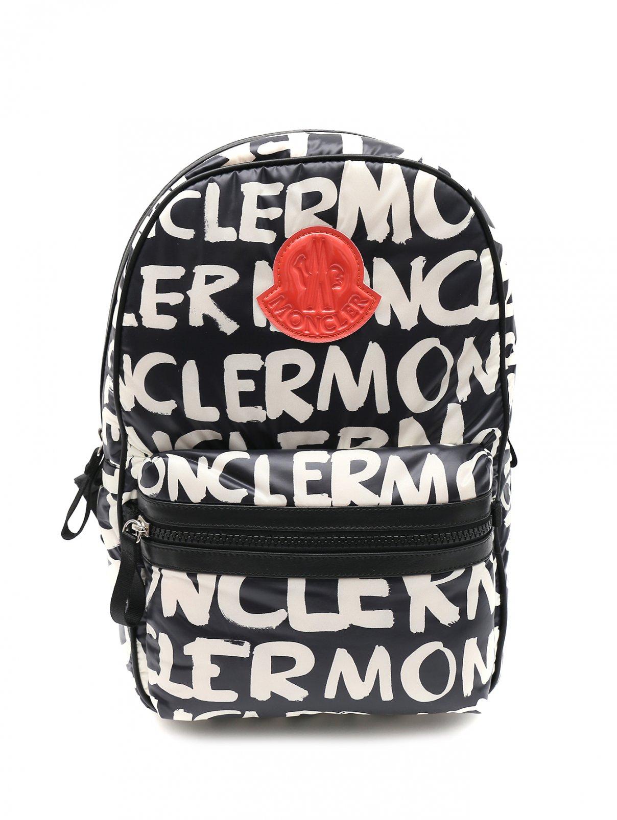 Рюкзак-мини с принтом Moncler  –  Общий вид
