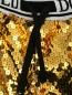Брюки свободные с пайетками Dolce & Gabbana  –  Деталь