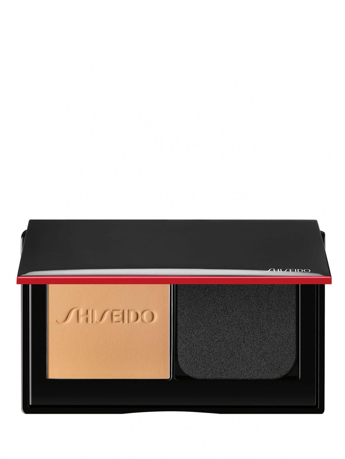 SHISEIDO SYNCHRO SKIN Компактная тональная пудра для свежего безупречного покрытия, 220 Linen, 10 г Shiseido  –  Общий вид