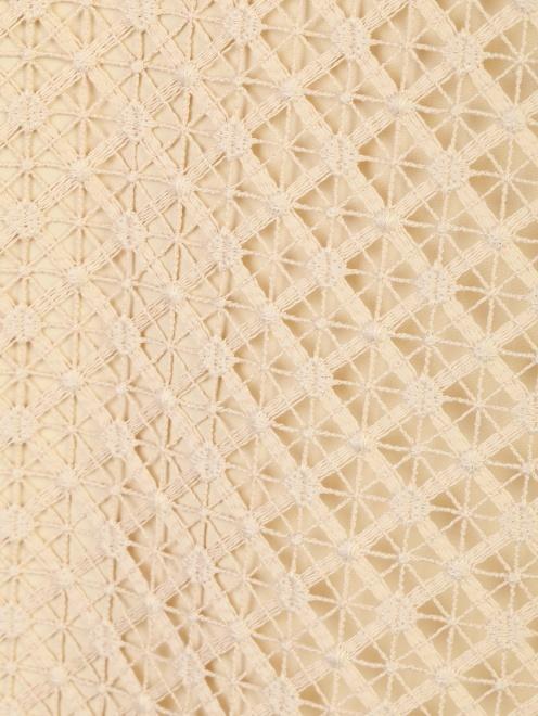 Блуза кружевная с декором Alberta Ferretti - Деталь1
